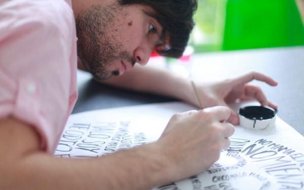 diseño tipografico por pablo alfieri