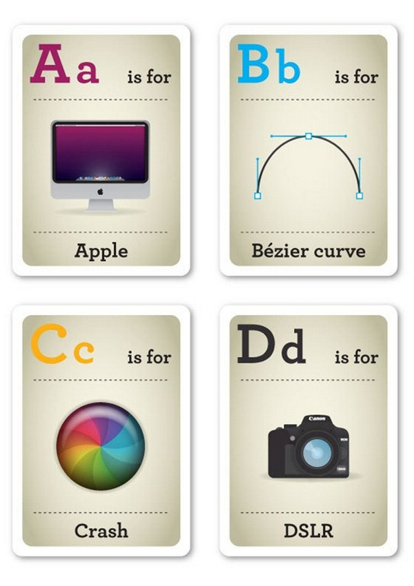abecedario del diseñador