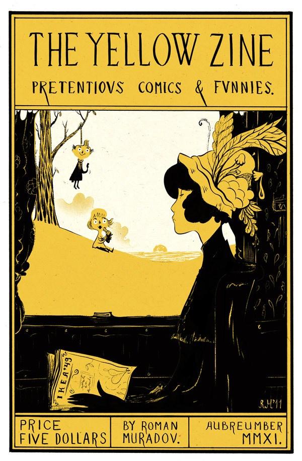 ilustraciones de roman muradov