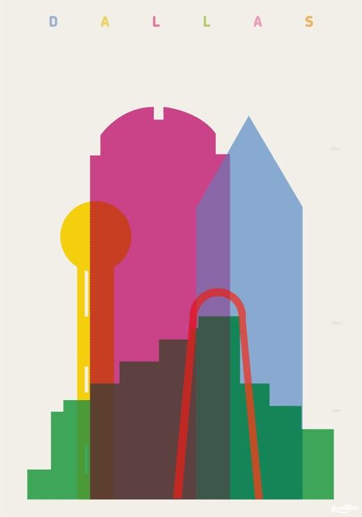 formas de ciudades
